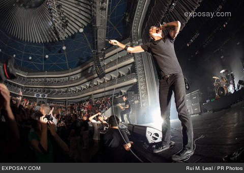 Rise Against Show 2011