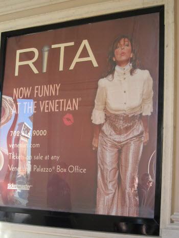 Tickets Rita Rudner Show
