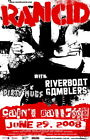 Tickets Riverboat Gamblers