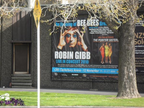 Show Tickets Robin Gibb