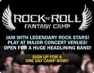 Rock And Roll Fantasy Camp New York