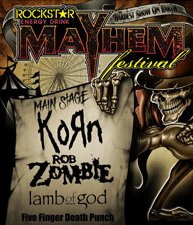 Rockstar Energy Mayhem Festival Dallas TX