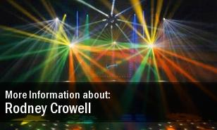 Rodney Crowell 2011 Dates