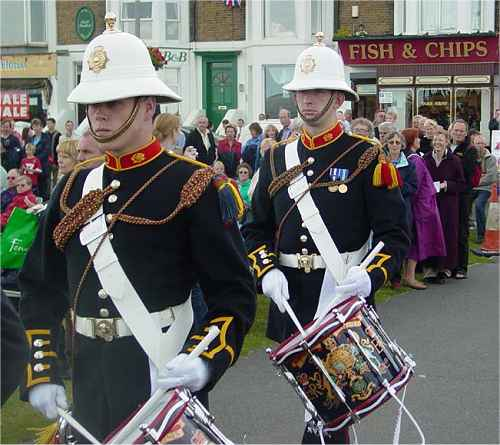 Royal Marines Band Tickets Leas Cliff Hall