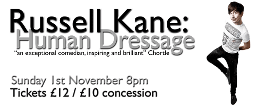 Tickets Show Russell Kane