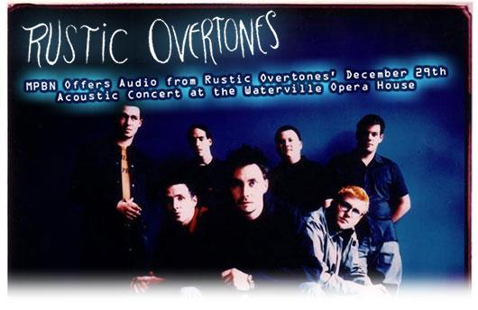 Tickets Rustic Overtones
