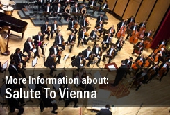 Salute To Vienna Tickets Copley Symphony Hall