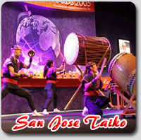 Dates San Jose Taiko 2011