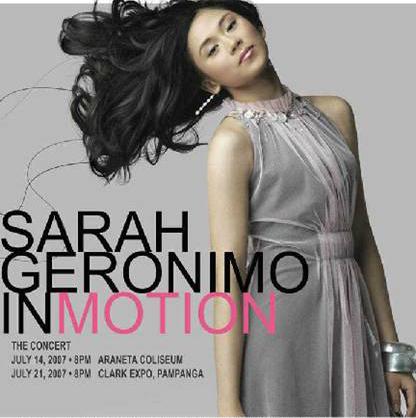Show Sarah Geronimo 2011