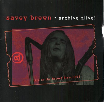 Savoy Brown Rhythm Room