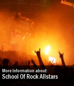 2011 Tour Dates School Of Rock Allstars