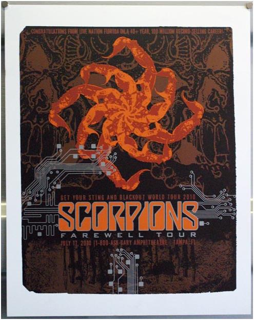 Scorpions Dates 2011