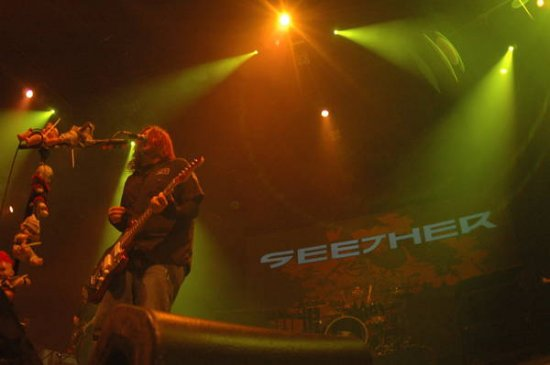 Seether 2011 Dates