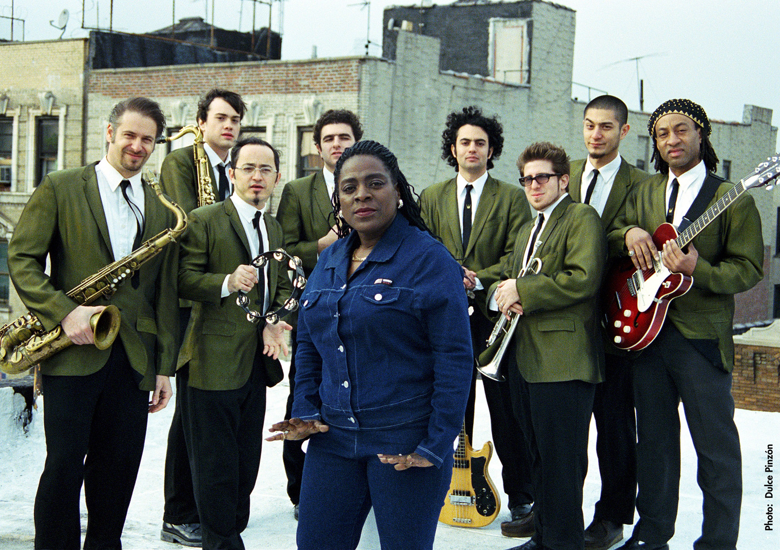 Sharon Jones And The Dap Kings Concert