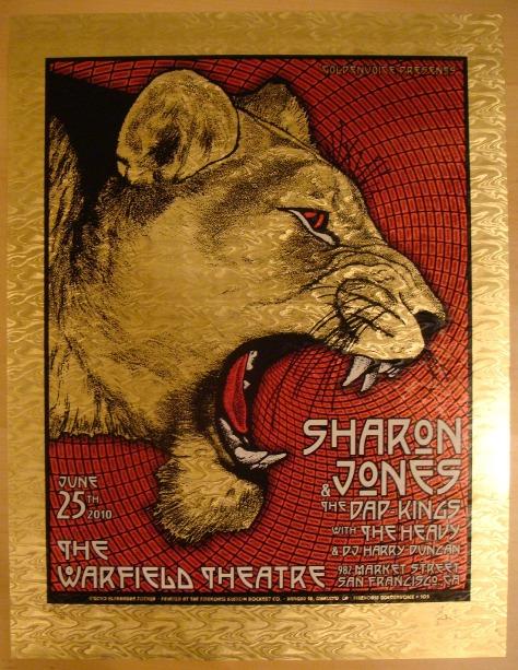 Sharon Jones Dates 2011