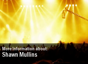 Shawn Mullins Show 2011