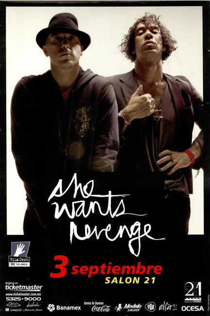She Wants Revenge Tickets Brighton Music Hall Ma