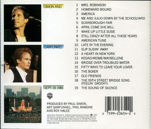 Simon And Garfunkel 2011 Dates