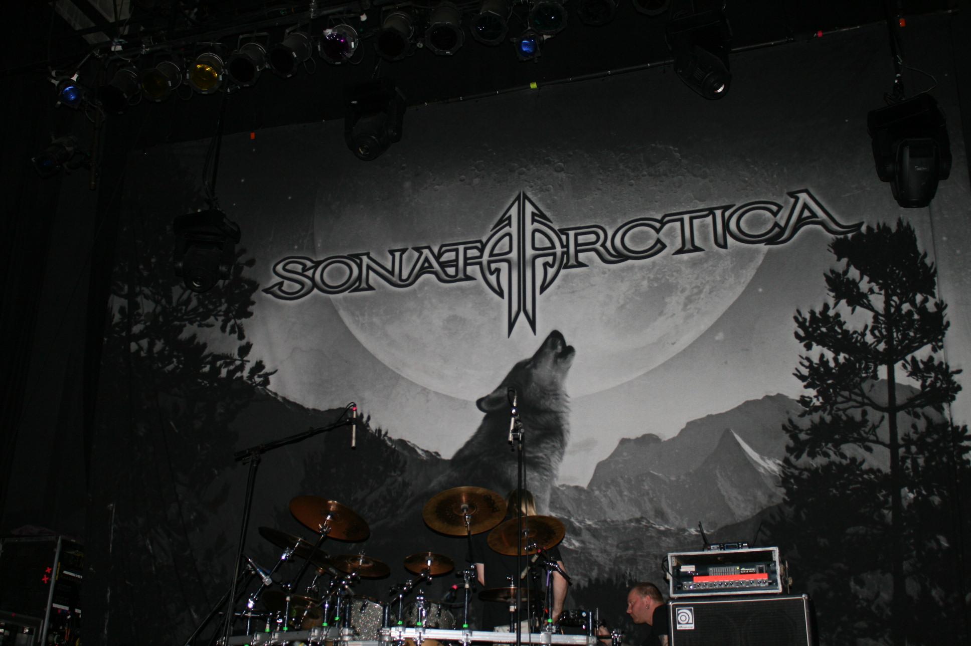 Sonata Arctica Backstage Werk