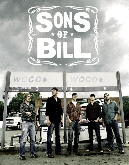 Sons Of Bill 8x10 Club Tickets