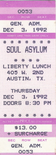 Show Soul Asylum 2011