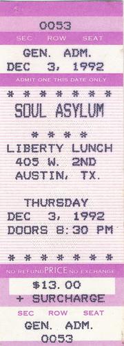 Show Soul Asylum 2011