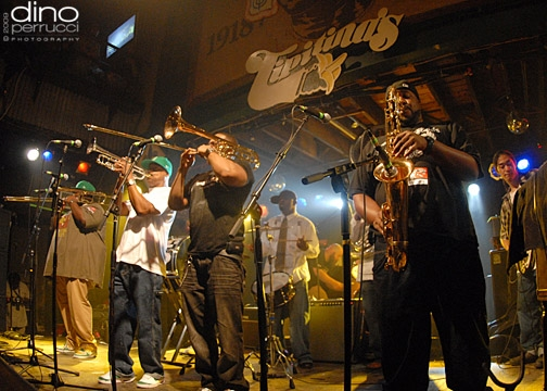 Soul Rebels Brass Band 8x10 Club