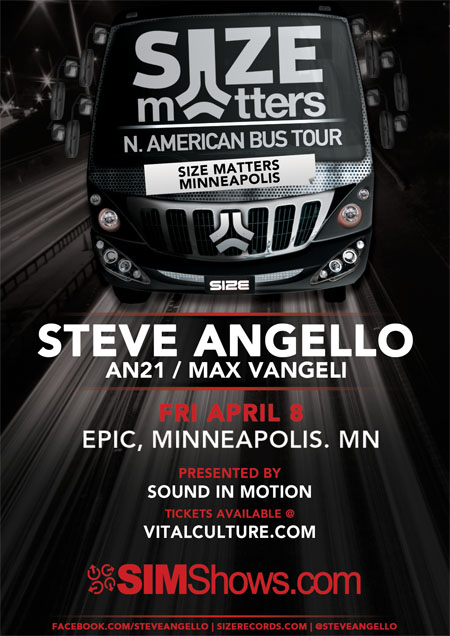 Steve Angello Tickets Show