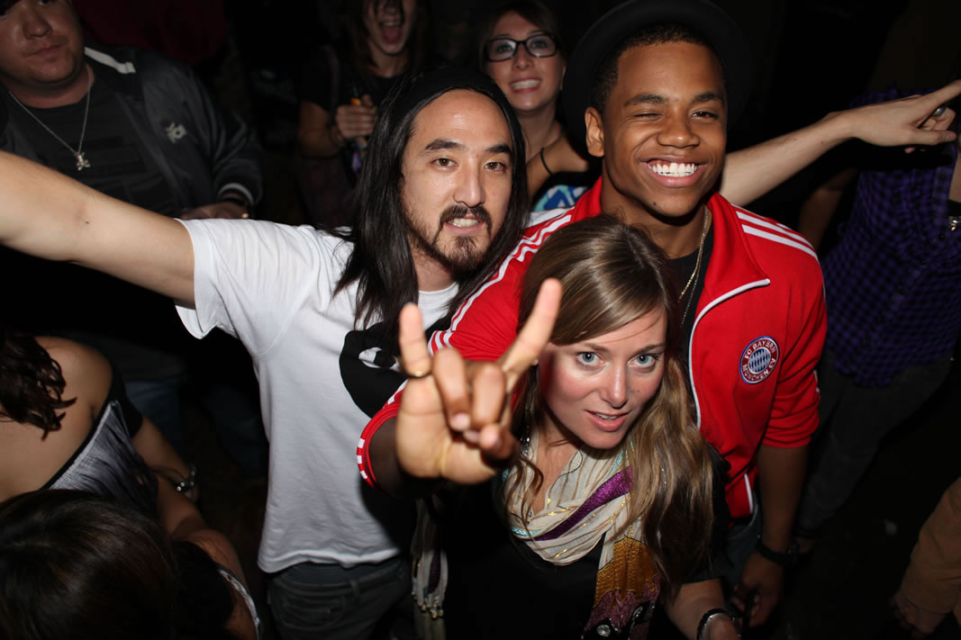 Steve Aoki Warfield
