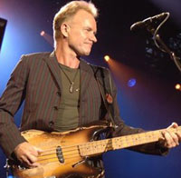 Sting Show 2011