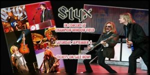 Styx Tickets