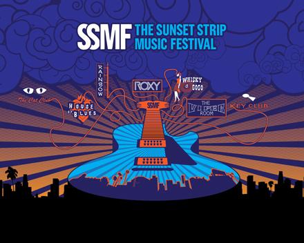 Sunset Strip Music Festival The Sunset Strip Festival Grounds