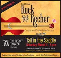 Tall In The Saddle The Recher Theatre