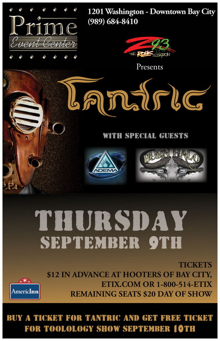 Tantric Indianapolis Tickets