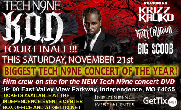 Tech N9ne Colorado Springs Tickets