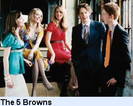 Tour The 5 Browns 2011 Dates