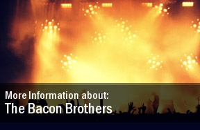 The Bacon Brothers Tickets Sellersville Theater 1894