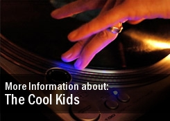 The Cool Kids 2011 Dates Tour