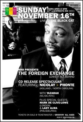 Tickets The Foreign Exchange Show