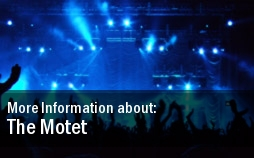 The Motet Tickets Denver