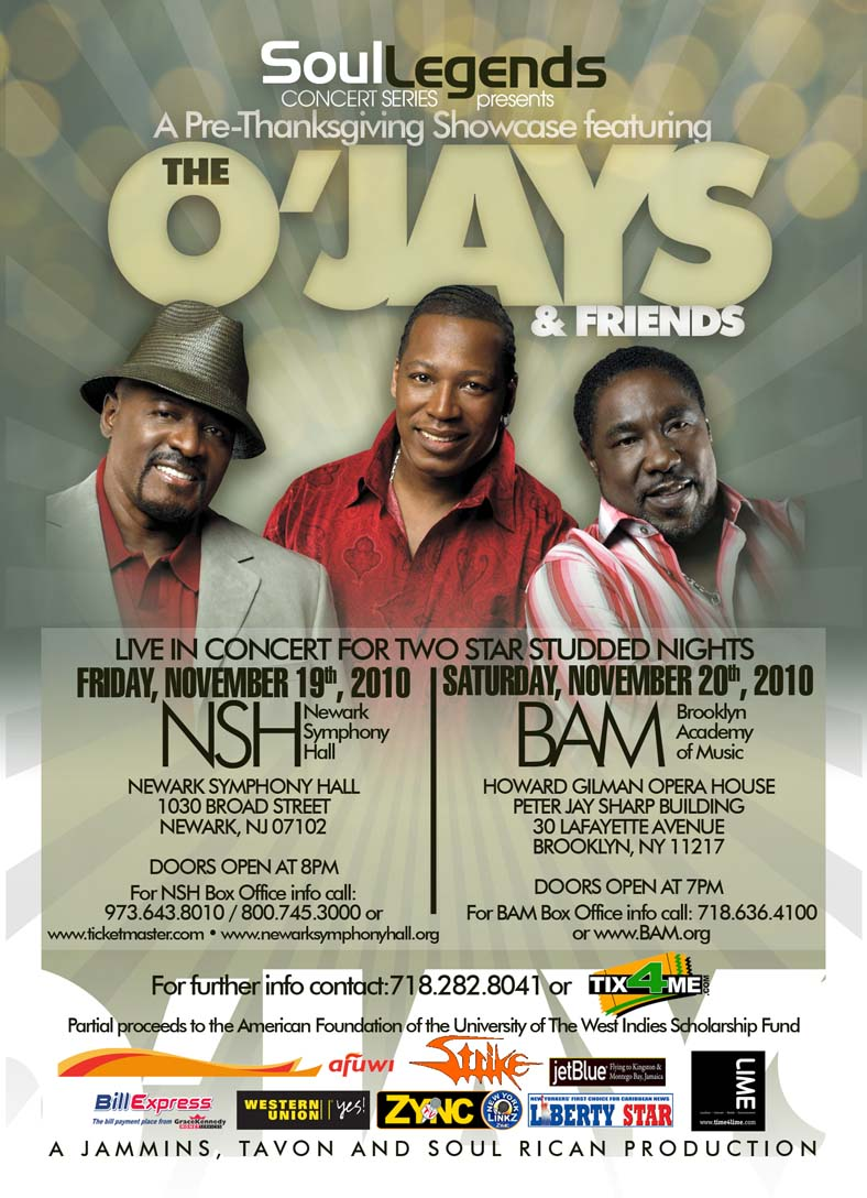 Show The Ojays Tickets