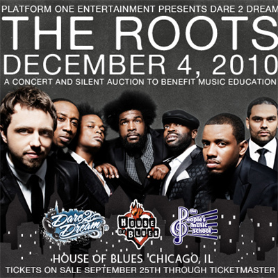 Dates The Roots 2011