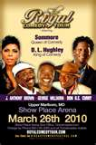 The Royal Comedy Tour Baltimore MD