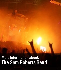 The Sam Roberts Band 2011