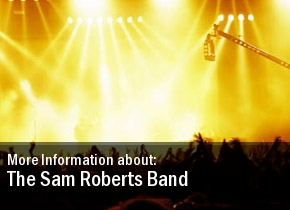 The Sam Roberts Band Dates 2011