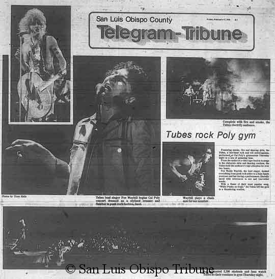 The Tubes Tickets