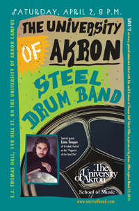 The University Of Akron Steel Drum Band Akron Civic Theatre