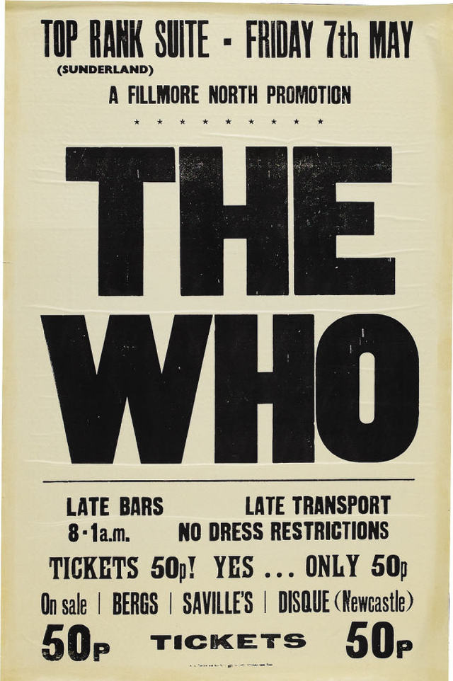 The Who Tickets Copps Coliseum