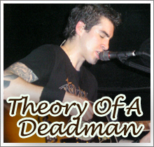Tour Dates Theory Of A Deadman 2011