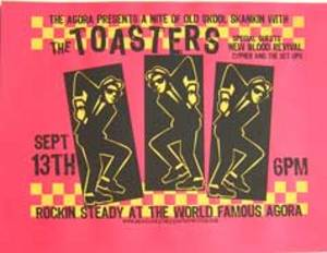 Toasters Show Tickets
